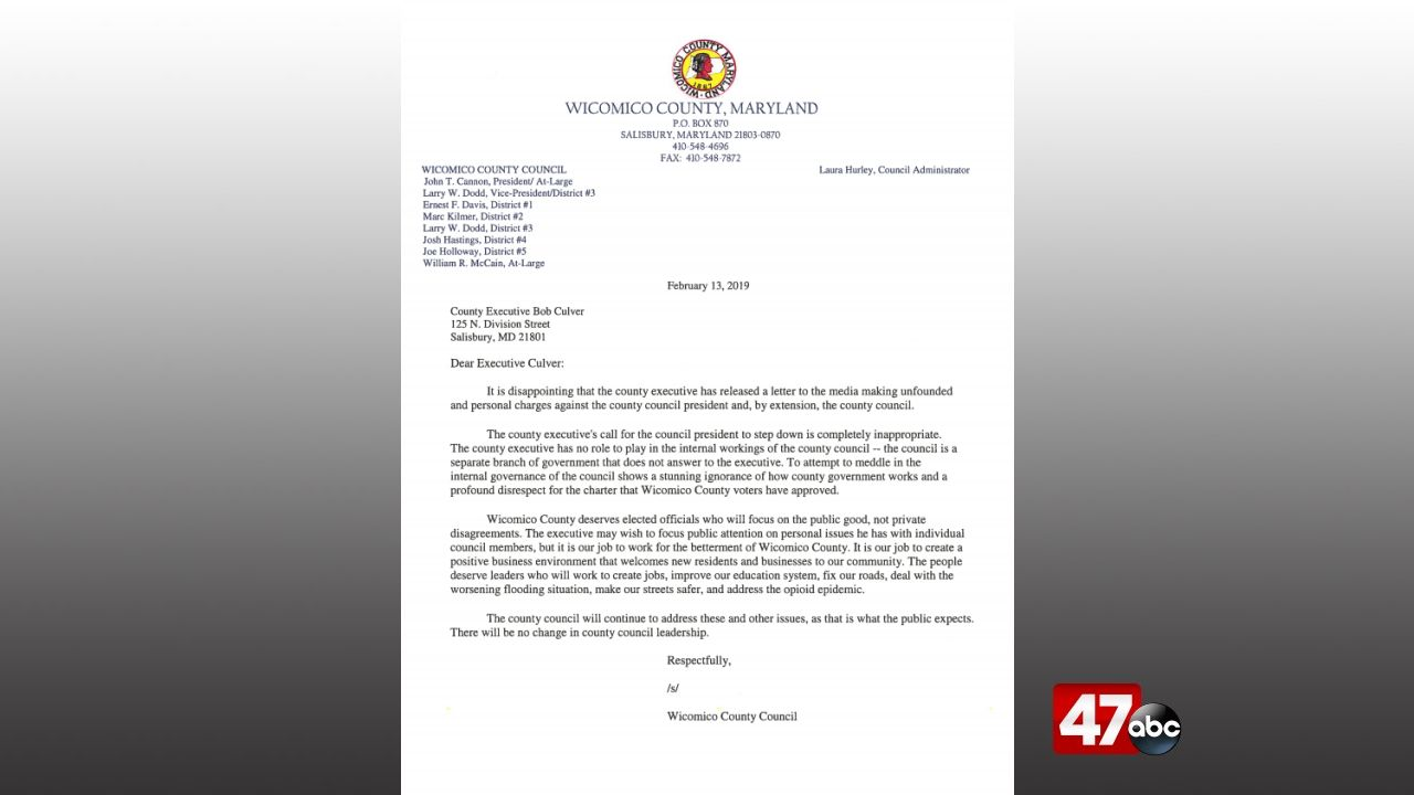 Letter To Step Down From A Position from www.wmdt.com
