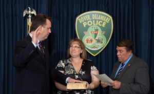 Dover Police Chief sworn-in