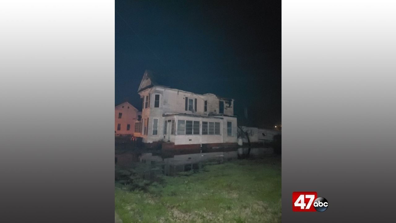 1280 Crisfield House Fire