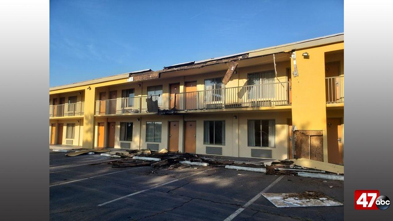 1280 Easton Motel Fire