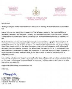 Mbc Letter