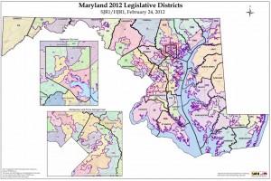 Md Legislative Districts