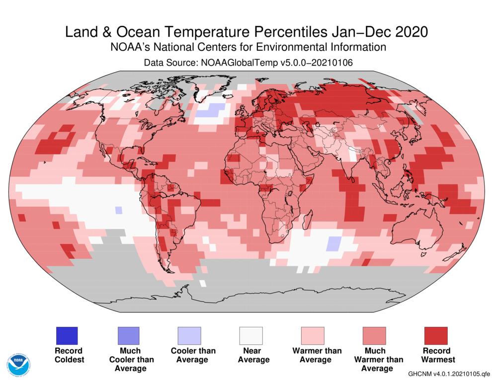 World Temperature Ranking