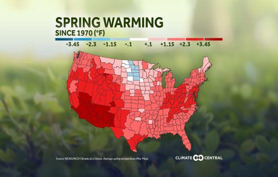 Spring Warming Usa