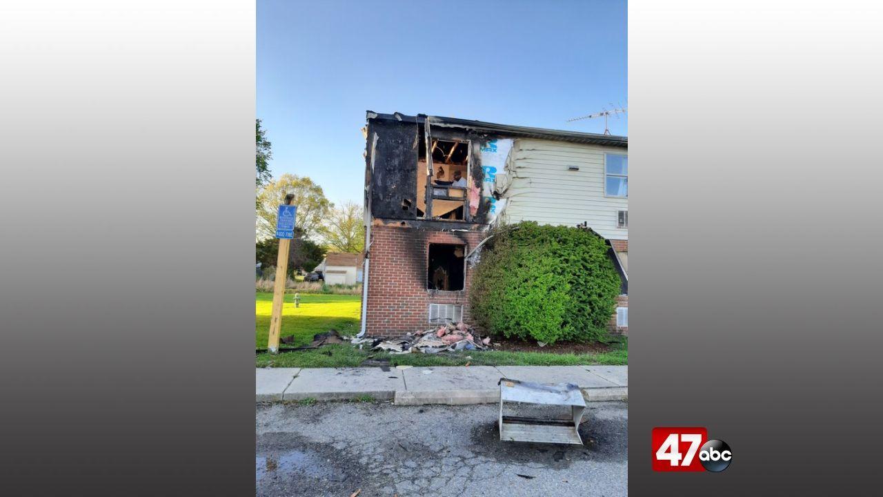 1280 Easton New Apartment Fire