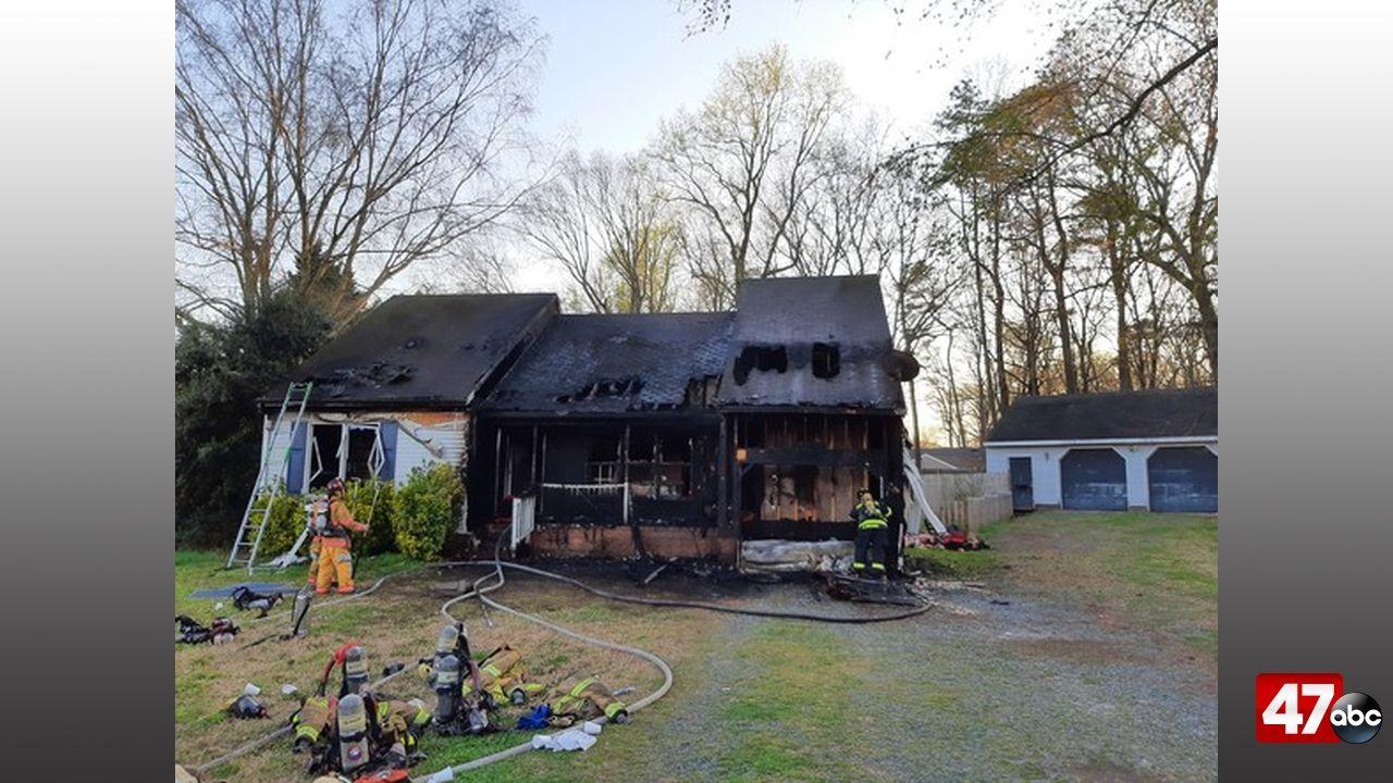 1280 Brookmeade Court Fire