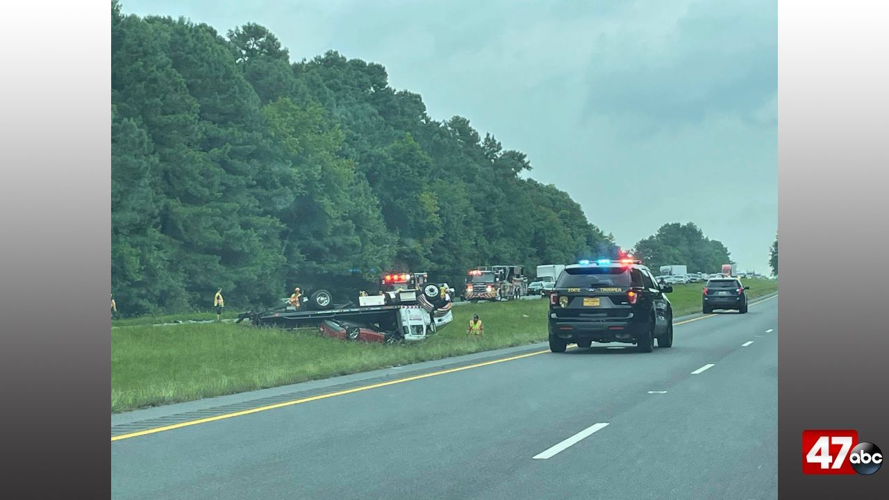 1280 Sby Tow Truck Crash