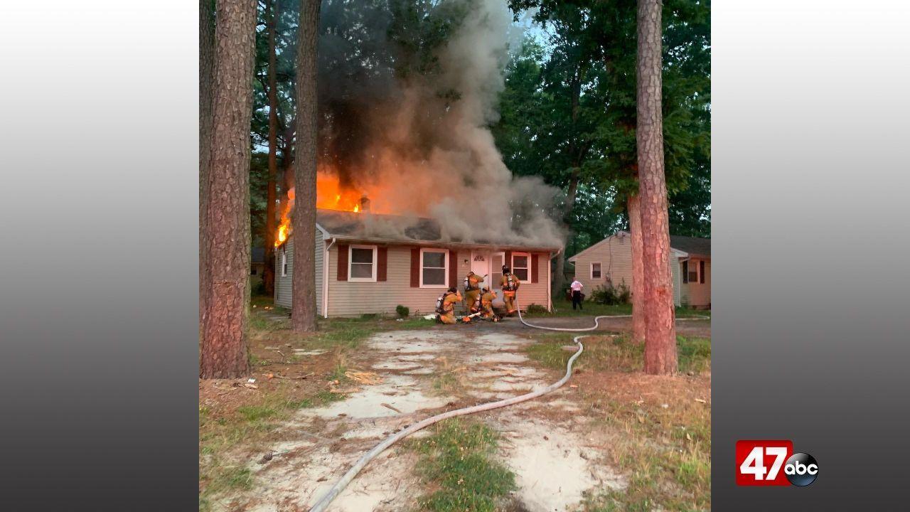 1280 Salisbury House Fire