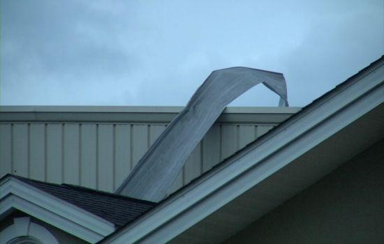 Metal Roof Damage